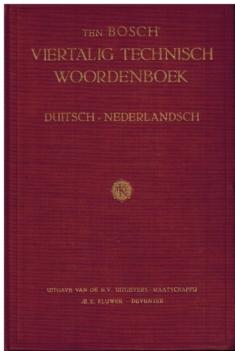 Duitsch-Nederlandsch Technisch Woordenboek