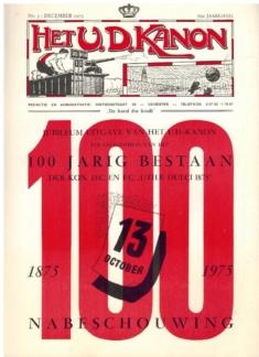 U.D. Kanon Jubileumuitgave December 1975