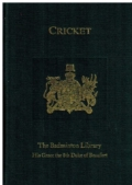 Cricket (Badminton Library)