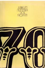 DOS 1901-1971Jubileumnummer