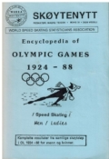 Encyclopedia of Olympic Games 1924-88