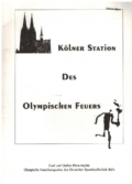 Kölner Station des Olympischen Feuers