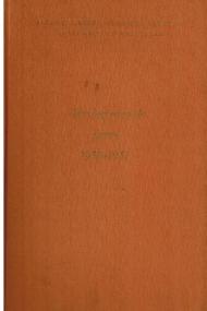 Verslag over de jaren 1950-1951
