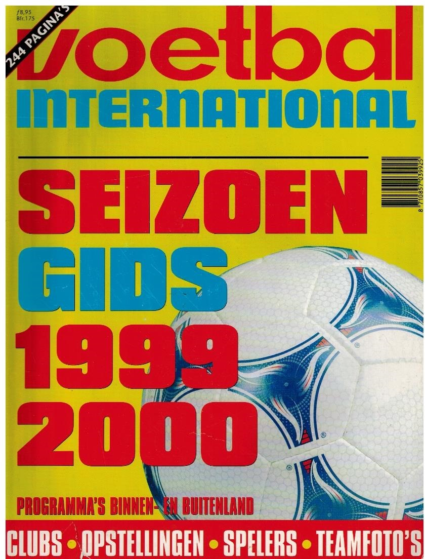 Voetbal International Seizoengids 1999-2000