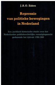 Repressie van politieke bewegingen in Nederland