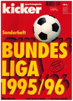 Kicker Sonderheft: Bundesliga 1995/96
