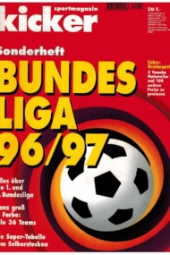Kicker Sonderheft: Bundesliga 1996/97