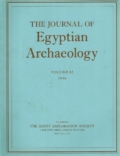 The Journal of Egyptian Archaeology