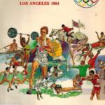 Official Guide and Team Handbook Los Angeles 1984