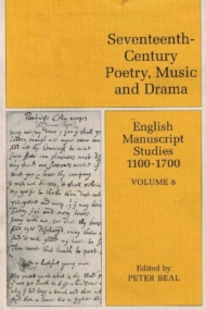 English Manuscript Studies 1100-1700