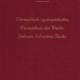 Thematisch-Systematisches Verzeichnis