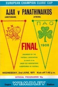 Final Ajax-Panathinaikos