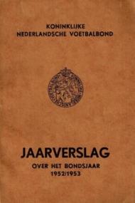KNVB Jaarverslag over het bondsjaar 1952-1953