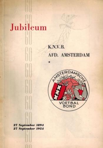 Jubileum KNVB Afd. Amsterdam