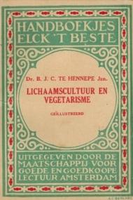 Lichaamscultuur en Vegetarisme