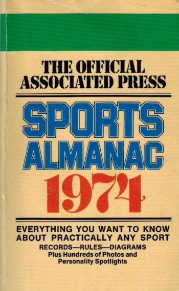 Associated Press Sports Almanac 1974