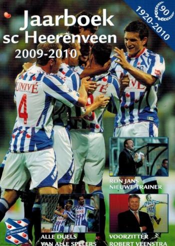 Jaarboek sc Heerenveen 2009-2010