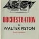Orchestration - Walter Piston