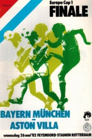 Bayern Munchen - Aston Villa European Cup