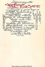 Erik Satie Schriften