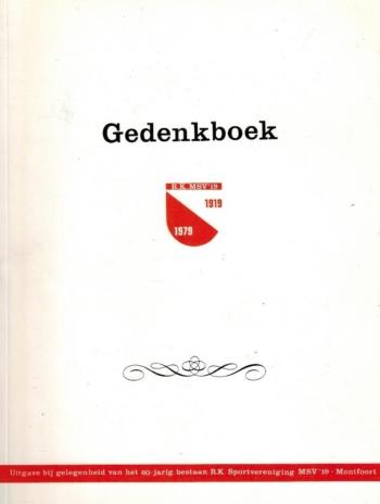 Gedenkboek R.K. MSV 19