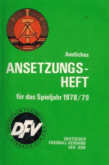 Ansetzungsheft Spieljahr 1978/79