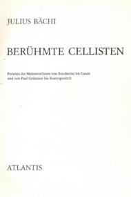 Beruhmte Cellisten
