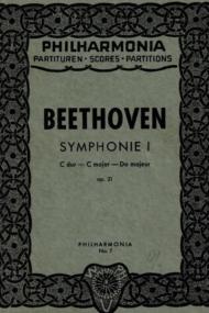 Symphonie 1 Beethoven
